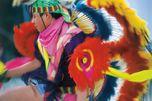 Tanzender Ureinwohner