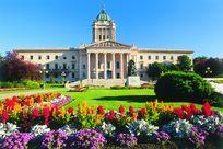 Manitoba Legislative Building in Winnipeg Kanada