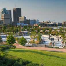 Plaza Skateparkt at The Forks