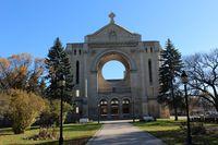 Saint Boniface Kathedrale in Winnipeg Kanada