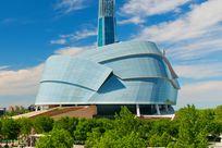 Kanadisches Museum für Menschenrechte in Winnipeg Kanada