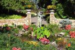 English Garden im Assiniboine Park in Winnipeg
