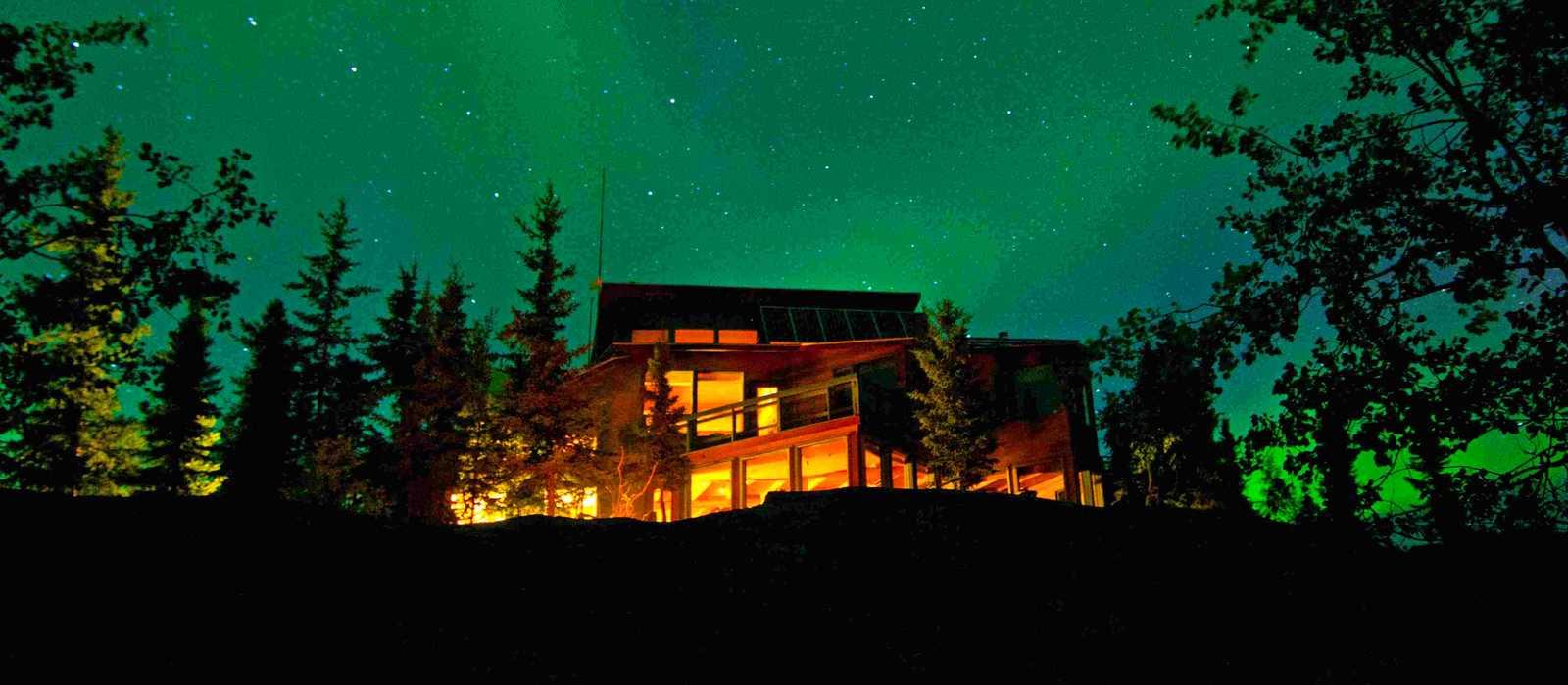 Impression North West Territories Aurora Borealis