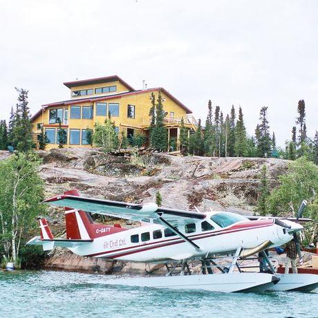 Blachford Lake Lodge in den Northwest Territories