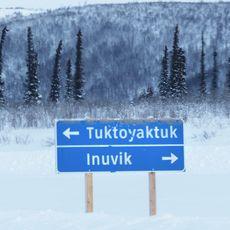 Ice Road Schild