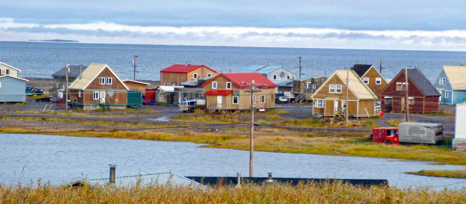Häuser in Tuktoyaktuk