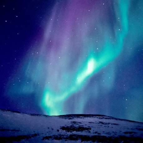Aurora borealis near Wager Bay, Kanada