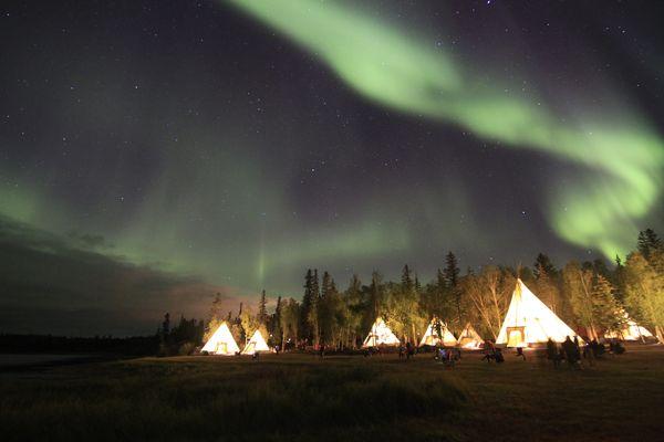 Aurora Viewing Zelte
