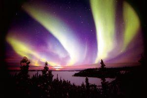 Aurora Borealis in Yukon Alaska