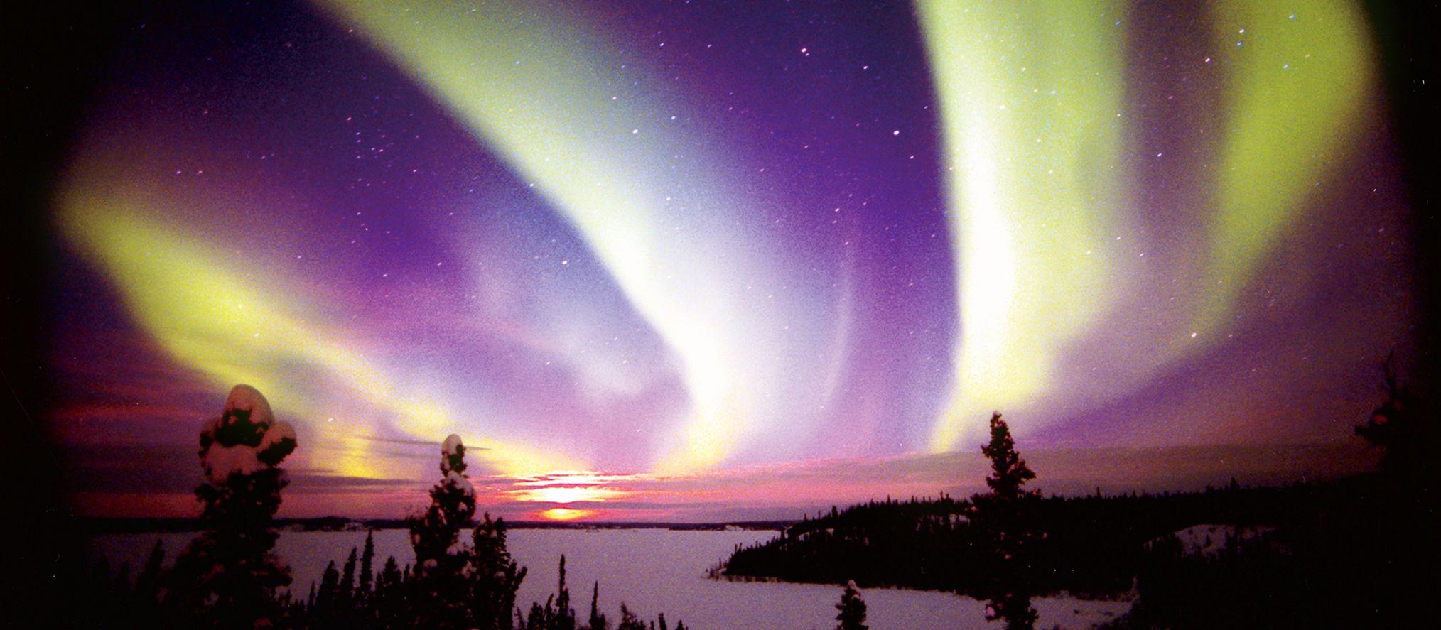 Nordlichter bei Yellowknife
