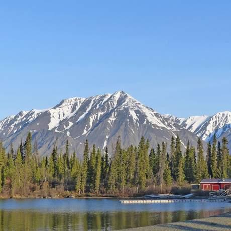 Alaska Highway bei Kluane National Park