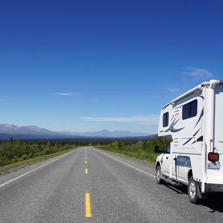 Alska Highway Richtung Kluane Lake