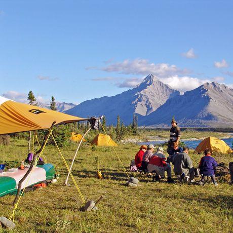Camp am Wind River
