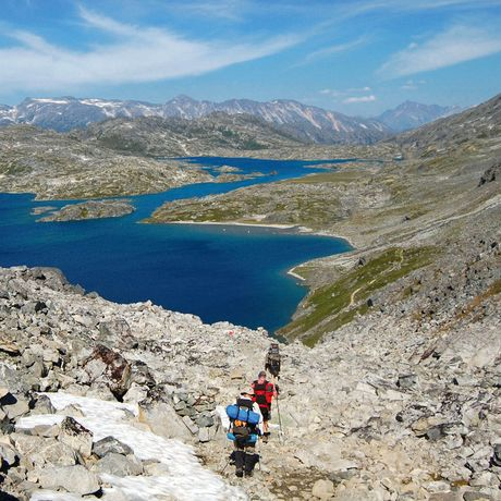 Crater Lake Chilkoot Trail