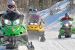 Arctic Day: Wintertouren mit dem Schneemobil