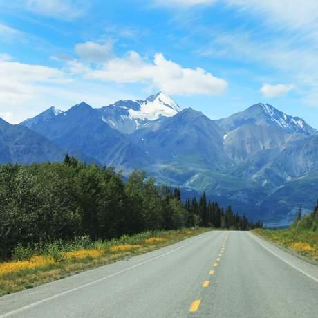 Haines Road im Yukon Territory