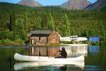 Kanufahrt auf dem Yukon River in Alaska