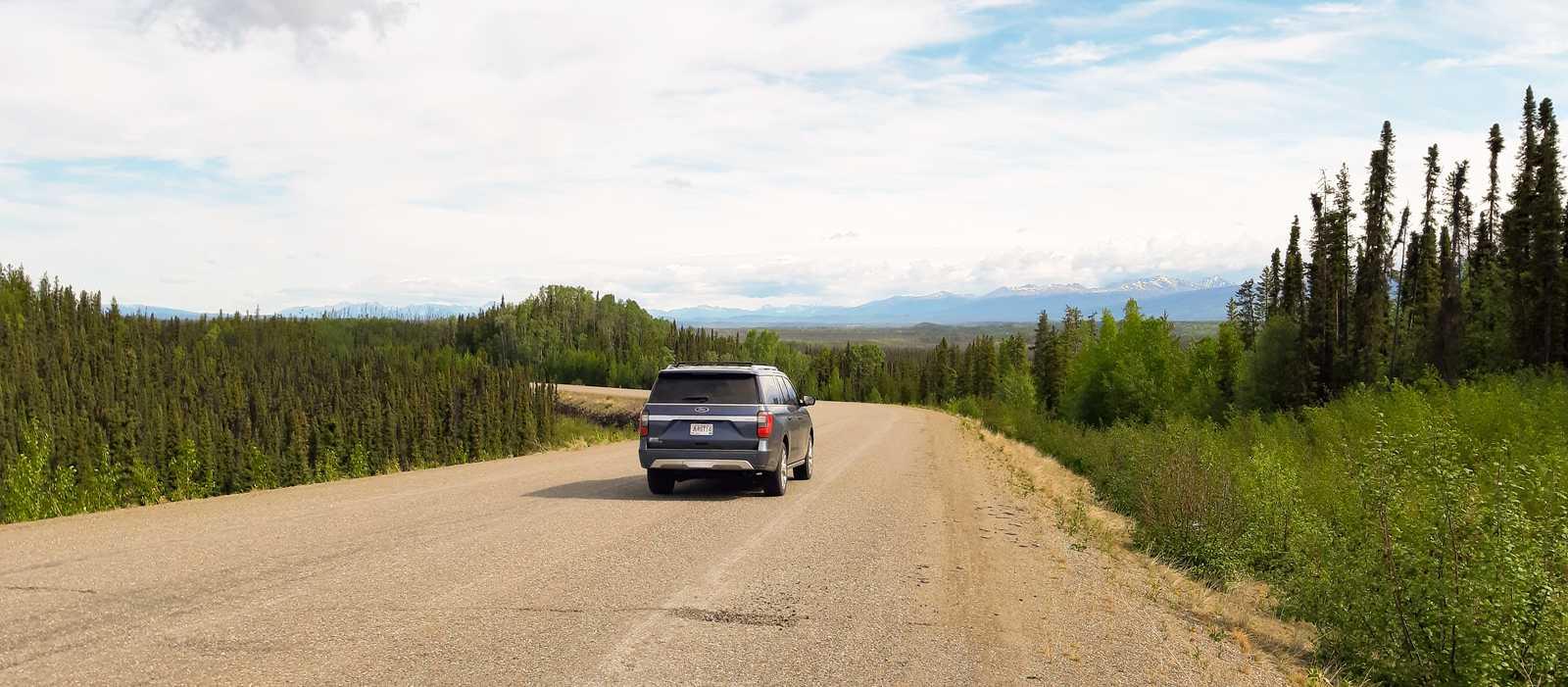 Unterwegs auf dem Robert Campbell Highway