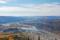 Landschaft um Dawson City