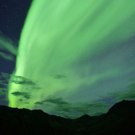 Aurora Borealis am Dempster Highway