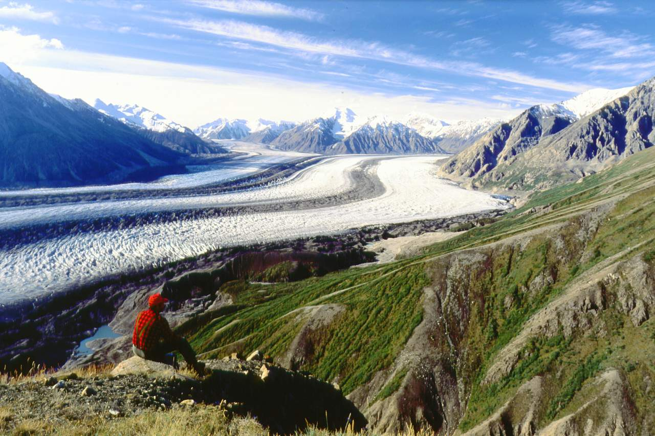 Beeindruckende Gletscherwelt im Kluane National Park