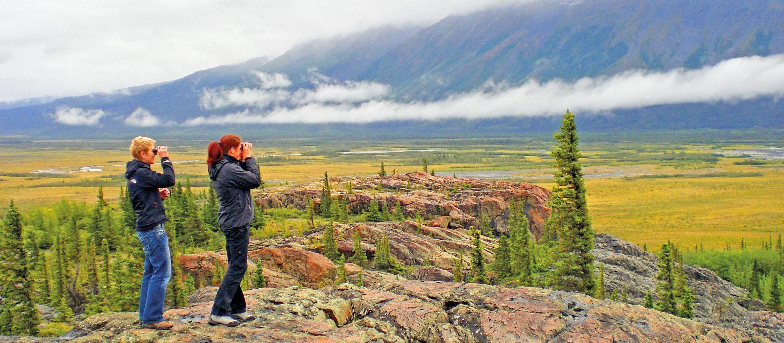 Wanderung im Kluane National Park mit Brent