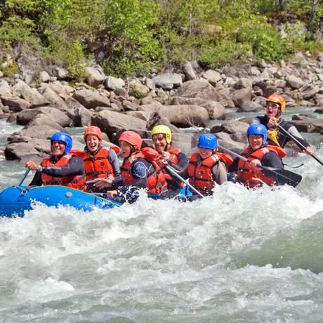 Rafting auf dem Tatshenshini River