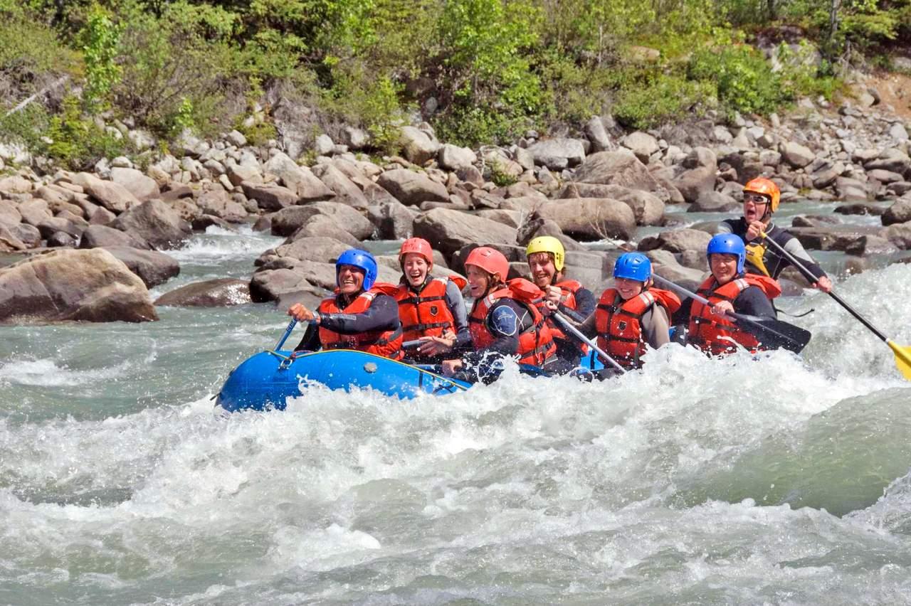 Raften, Tatshenshini River