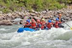 Rafting-Tagestour auf dem Upper Tatshenshini River