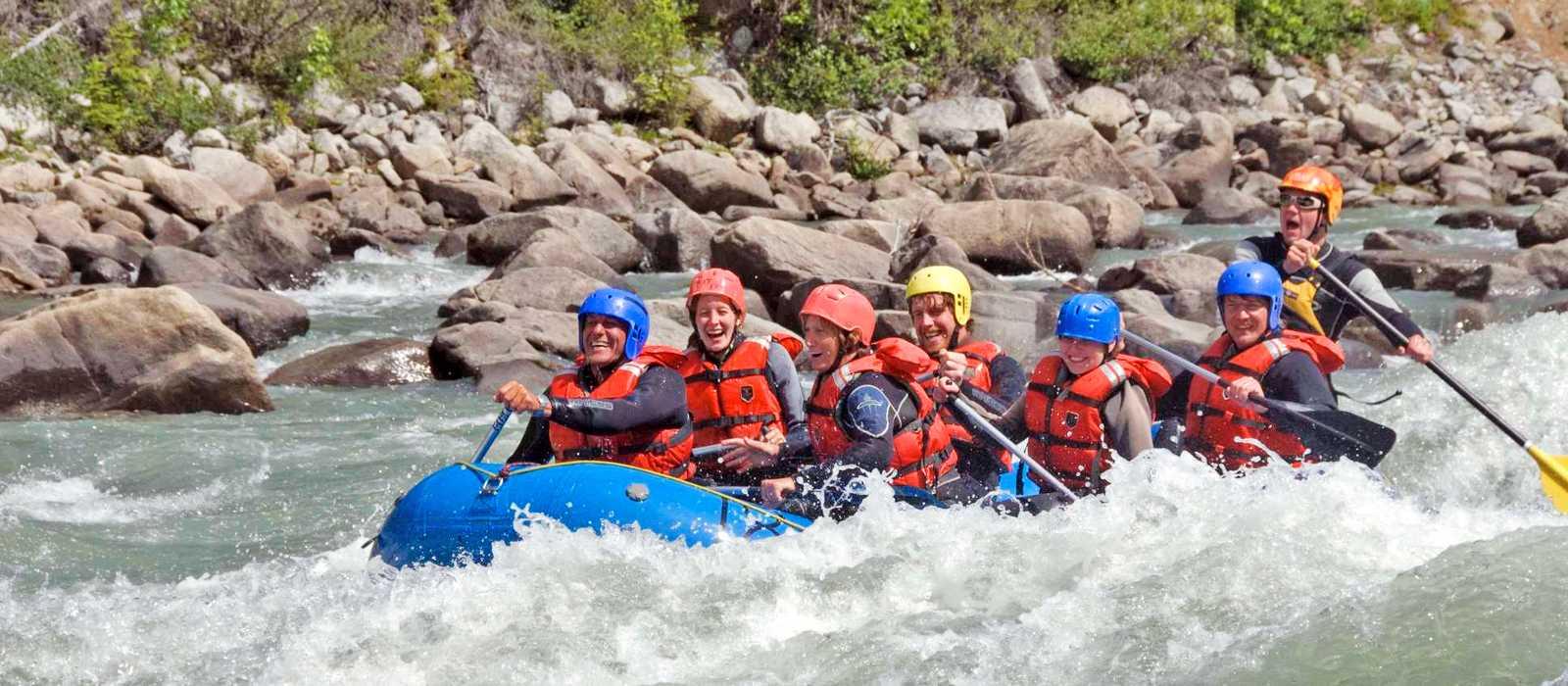 River Rafting Tatshenshini River
