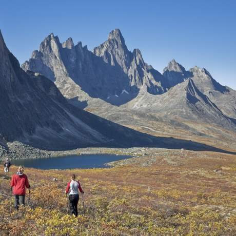 Tombstone Territorial Park, Yukon, Canada; Photo shoot August 29, 30, 31, and Sept 01, 2008; Katia-Annik Torkia, Eric Marcoux, Matthew Ball, and Michelle Boleen; Releases obtained by Yukon Government