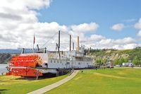 Steamship Klondike in Whitehorse