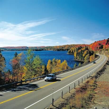 Highway im Algonquin Provincial Park