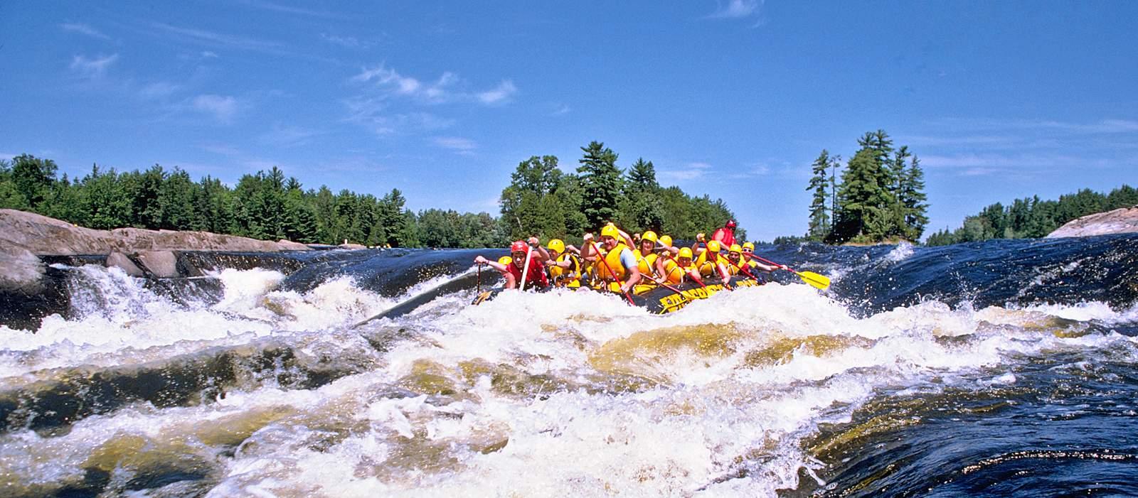 Rafting auf dem Ottawa River
