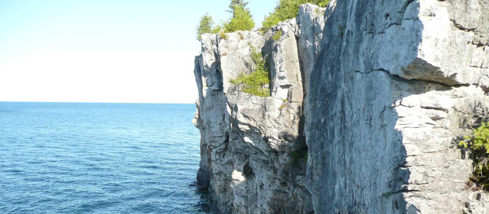 Steilküste der Georgian Bay