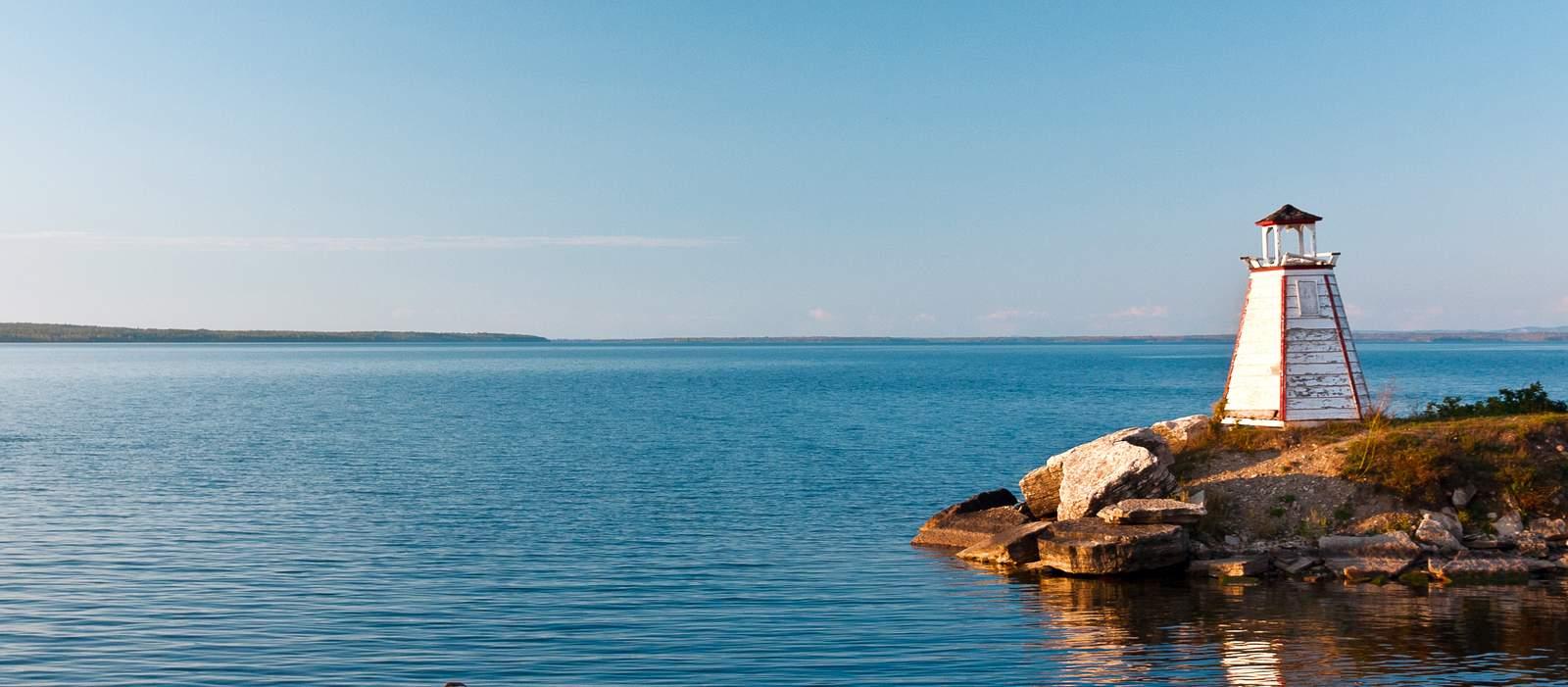 Leuchtturm in der Georgian Bay