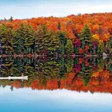 Kanu im Killarney Provincial Park