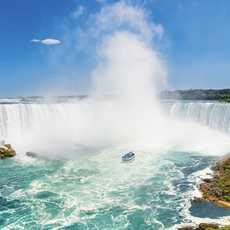 Die Niagara Fälle in Ontario