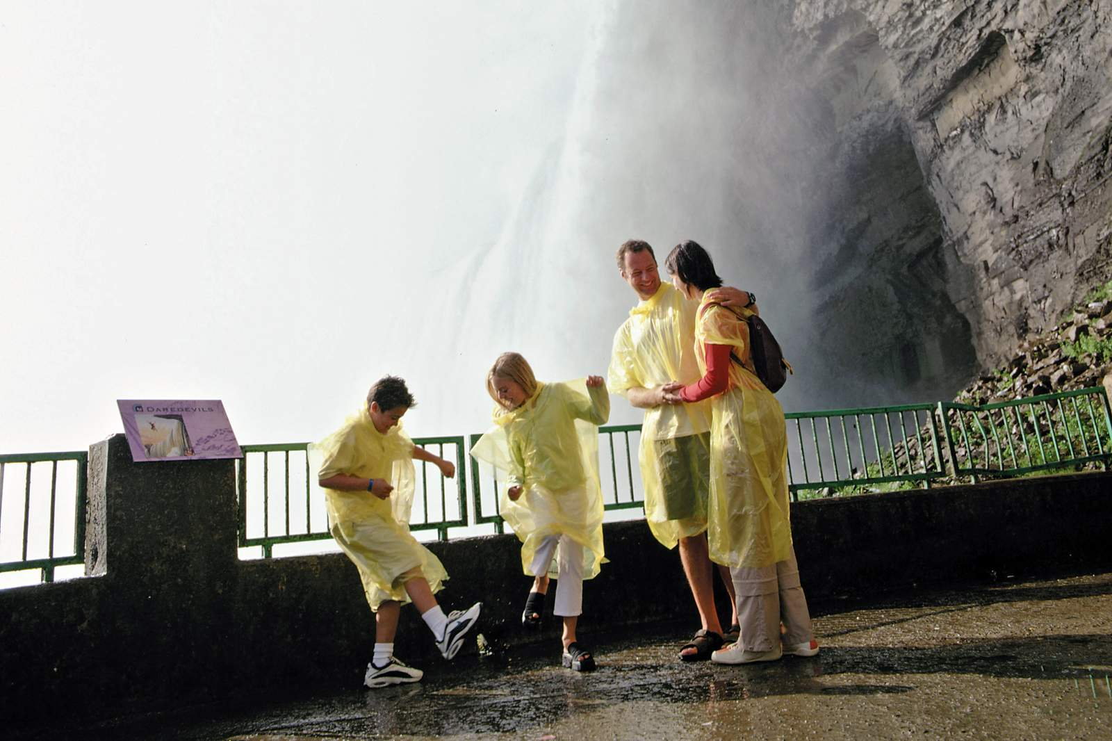 An den Niagara-Faellen