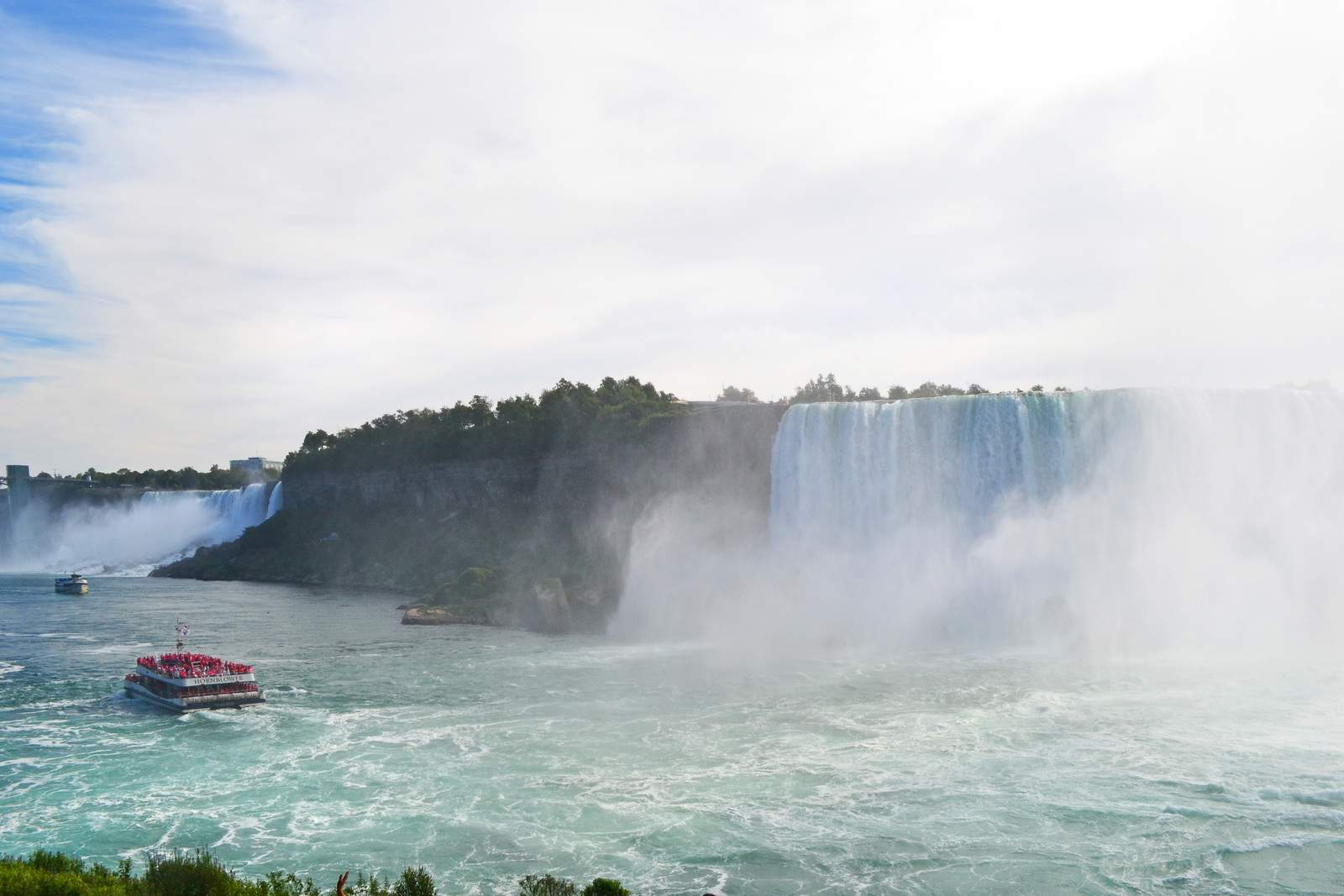 Journey behind the Falls bei den Niagara Falls