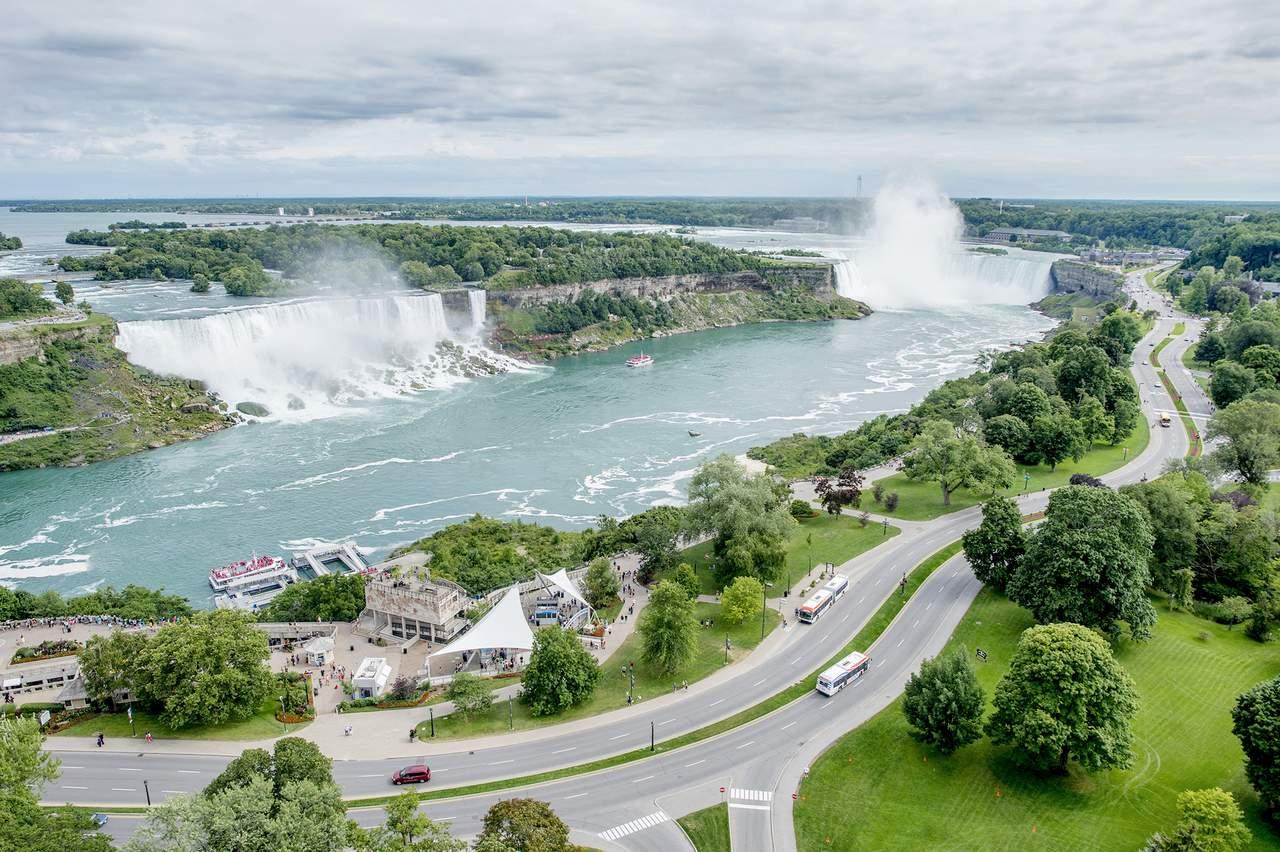 Ausblick auf die Niagarafälle in Toronto, Ontario