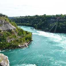 Seilbahn über die Niagara Falls
