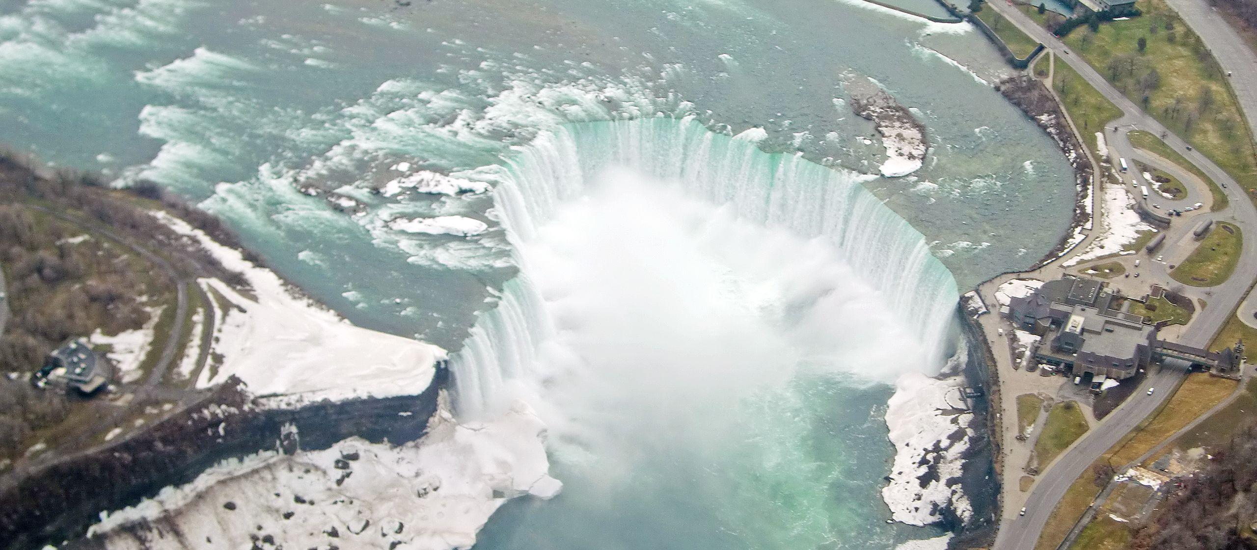 Niagara-Fälle aus der Luft