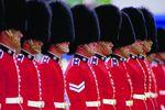 Aufstellung der Garde in Ottawa