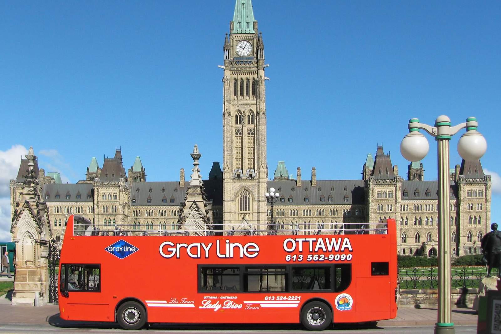 Gray Line Ottawa Hop-On Hop-Off City Tour, Ontario