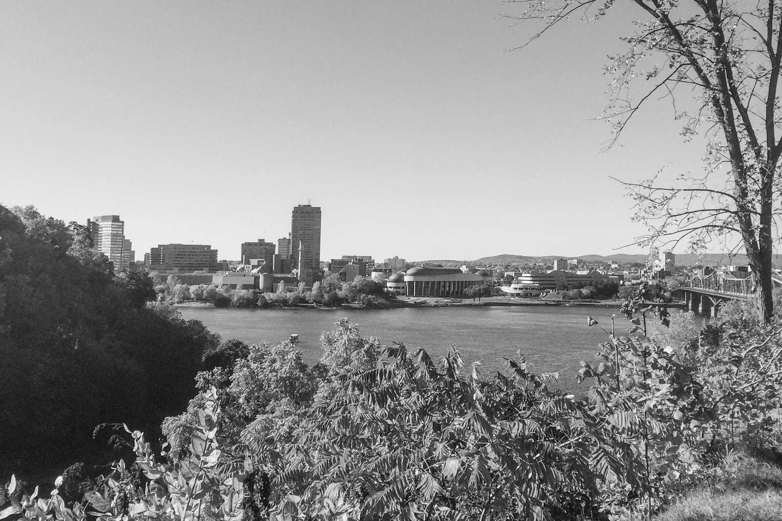 Major's Hill Park in Ottawa