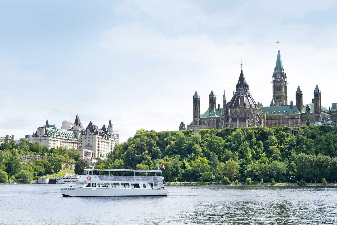 Kanadas Hauptstadt Ottawa