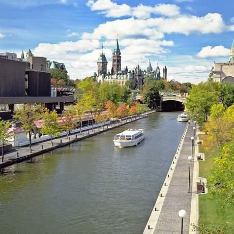 Schiffstour auf dem Rideau Canal