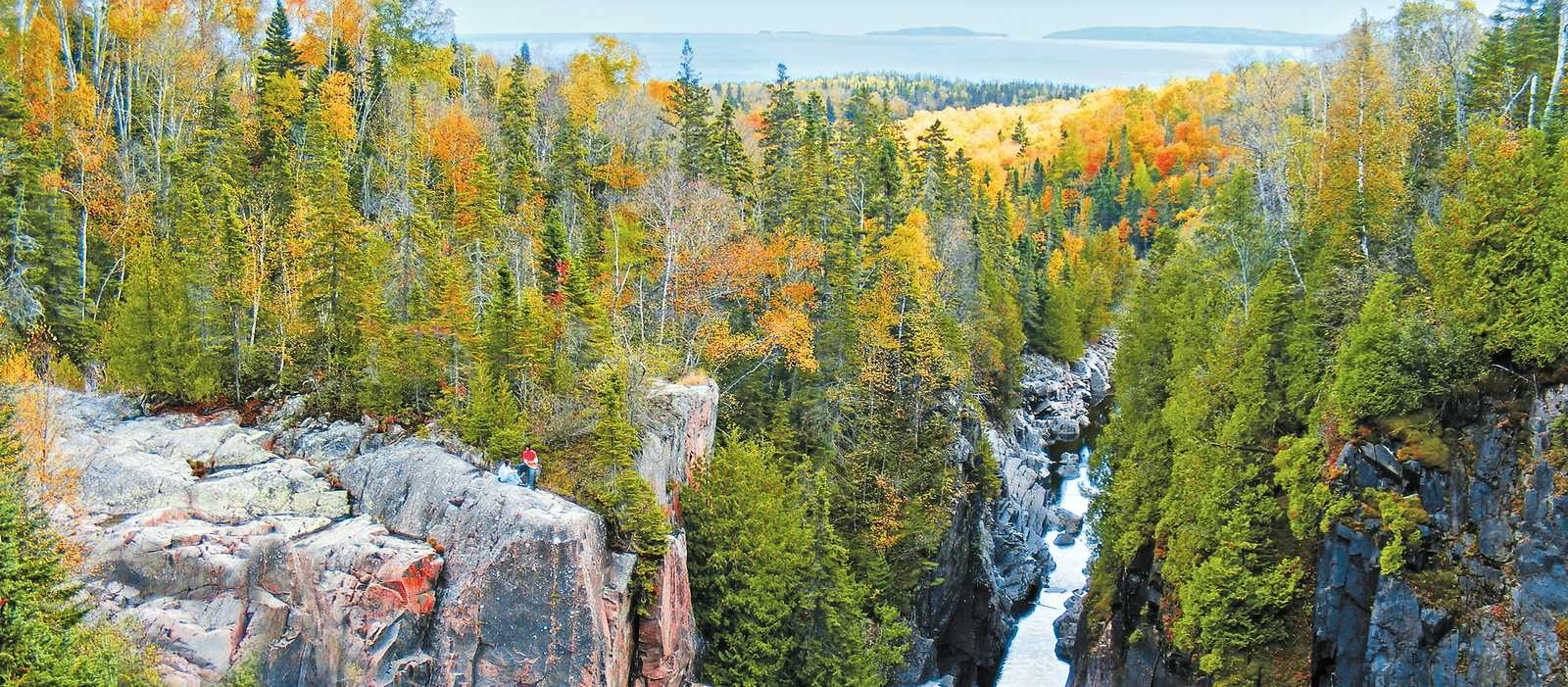 Landschaft in Thunder Bay