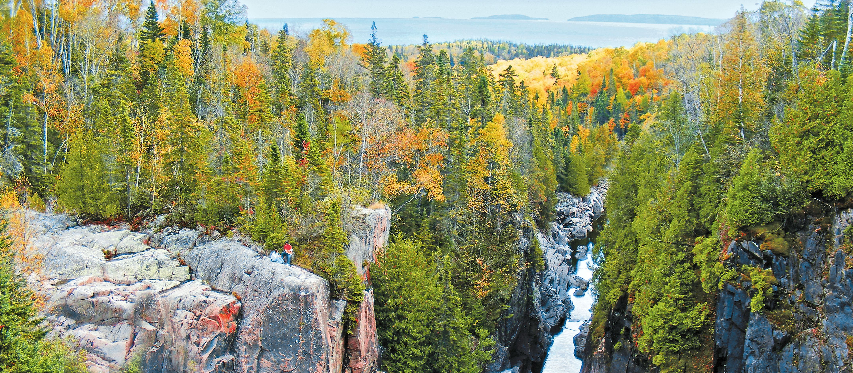 Landschaft in Thunder Bay